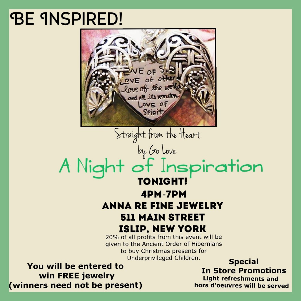 Anna re night of inspiration